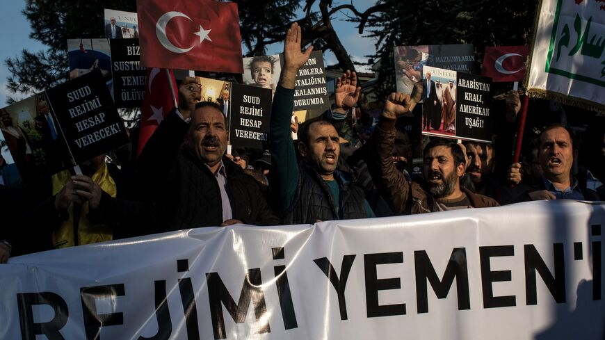 2018 Istanbul protest against Saudi actions in Yemen