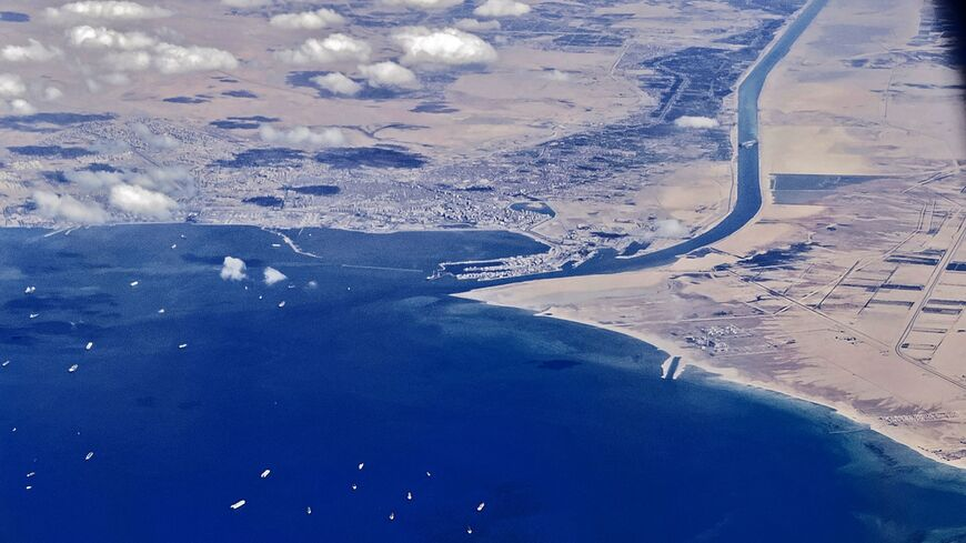 Suez Canal Red Sea entrance