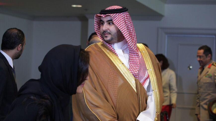 Prince Khalid at Pentagon in 2019
