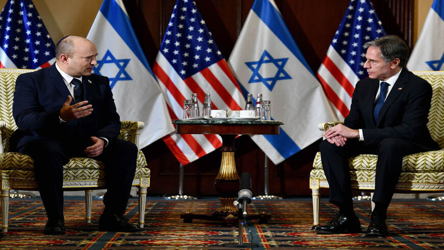 Ahead of meeting Biden, Israel's Bennett meets with Austin, Blinken - Al-Monitor: The Pulse of the Middle East