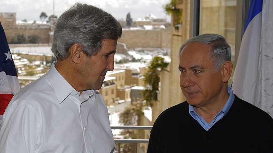 Netanyahu, Kerry put security first in peace talks with Palestinians - Al-Monitor: The Pulse of the Middle East