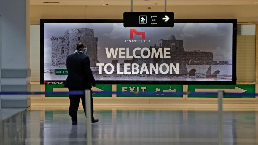 The arrivals' terminal at Beirut international airport is pictured as it re-opens on July 1, 2020 in the Lebanese capital. - Lebanon was faster than most other countries to decide on a lockdown to avaoid the spread of the novel coronavirus. By the end of February, schools were closed, and the airport and most bars and restaurants soon follow suit. (Photo by ANWAR AMRO / AFP) (Photo by ANWAR AMRO/AFP via Getty Images)