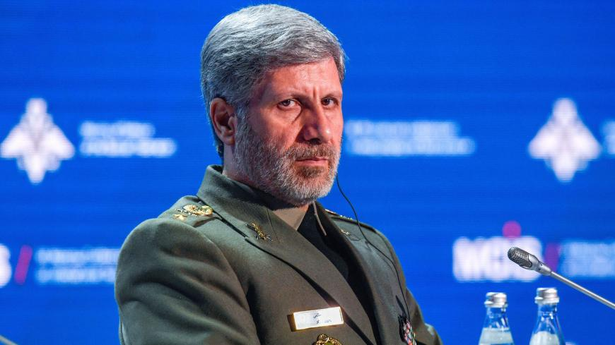 Iranian Defense Minister Amir Hatami attends the VII Moscow Conference on International Security MCIS-2018  in Moscow on April 4, 2018. / AFP PHOTO / Alexander NEMENOV        (Photo credit should read ALEXANDER NEMENOV/AFP via Getty Images)