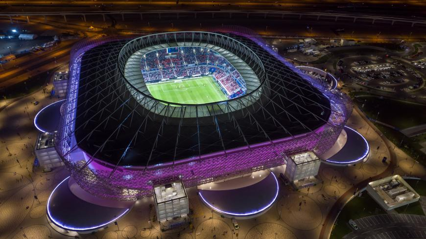 DOHA, QATAR - DECEMBER 18:  In this handout image provided by Qatar 2022/Supreme Committee, Qatar inaugurates fourth FIFA World Cup 2022 venue, Ahmad Bin Ali Stadium on December 18th, 2020 in Doha, Qatar. Qatar inaugurates fourth FIFA World Cup 2022™ venue, Ahmad Bin Ali Stadium, in front of 50% capacity crowd. The 40,000-capacity venue will host seven matches during Qatar 2022 up to the round-of-16 stage. Fans in attendance were required to show negative COVID-19 test results before entering the venue.  (P
