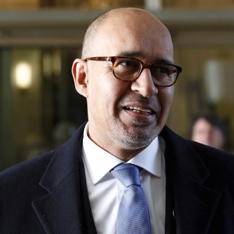 French State Secretary for European Affairs Harlem Desir arrives for a meeting in Rome, Italy, December 13, 2015. The U.S. and Italy on Sunday led the international diplomatic push to get Libya's warring factions to sign a deal to form a unity government, hoping it will stop the spread of Islamic State militancy in the North African country.  REUTERS/Remo Casilli - GF10000264368