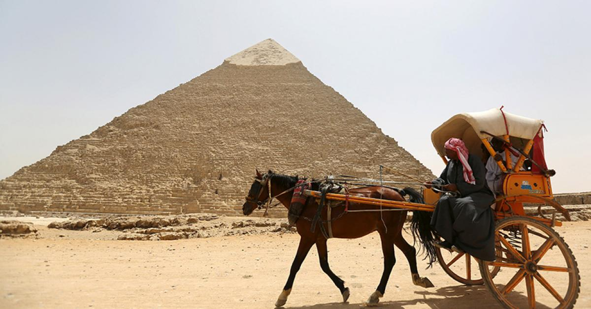 Egypt Sets Tourism Target For 2020 Al Monitor The Pulse Of The Middle East