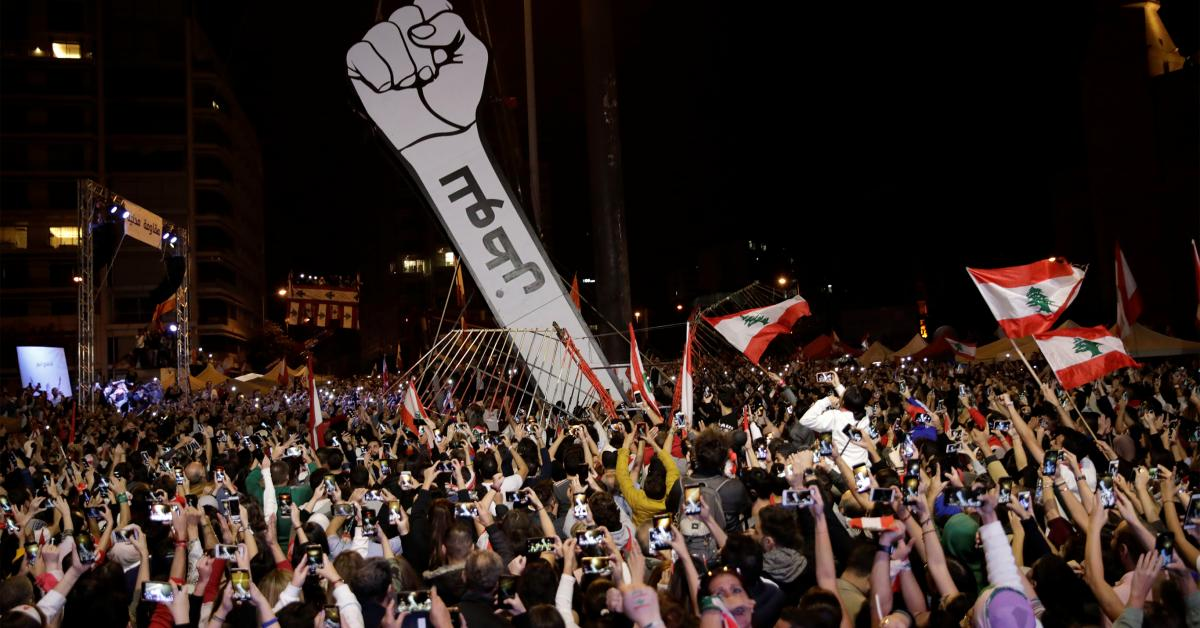 Building the revolution's memory: Coders archive Lebanon's protests
